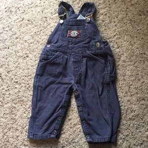 18 month corduroy overalls